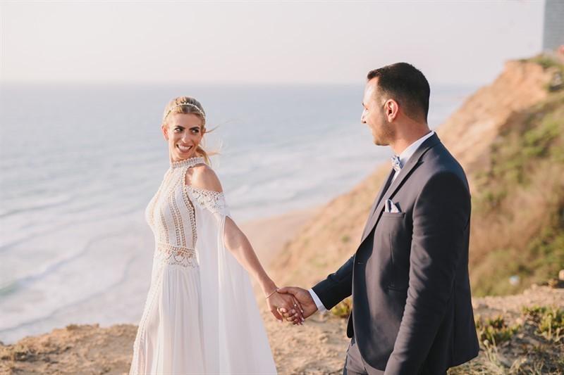 חתונת שישי צהריים על הים