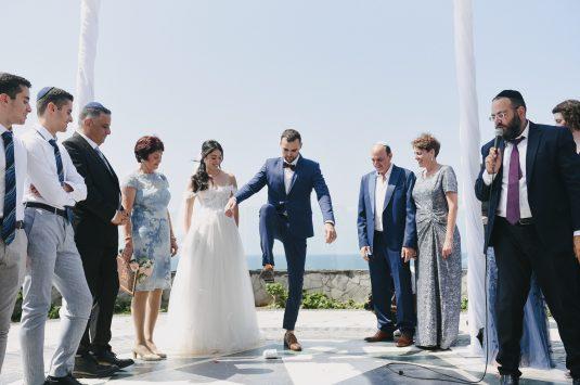 אמריקה על הים: החתונה של ליאת וגלעד